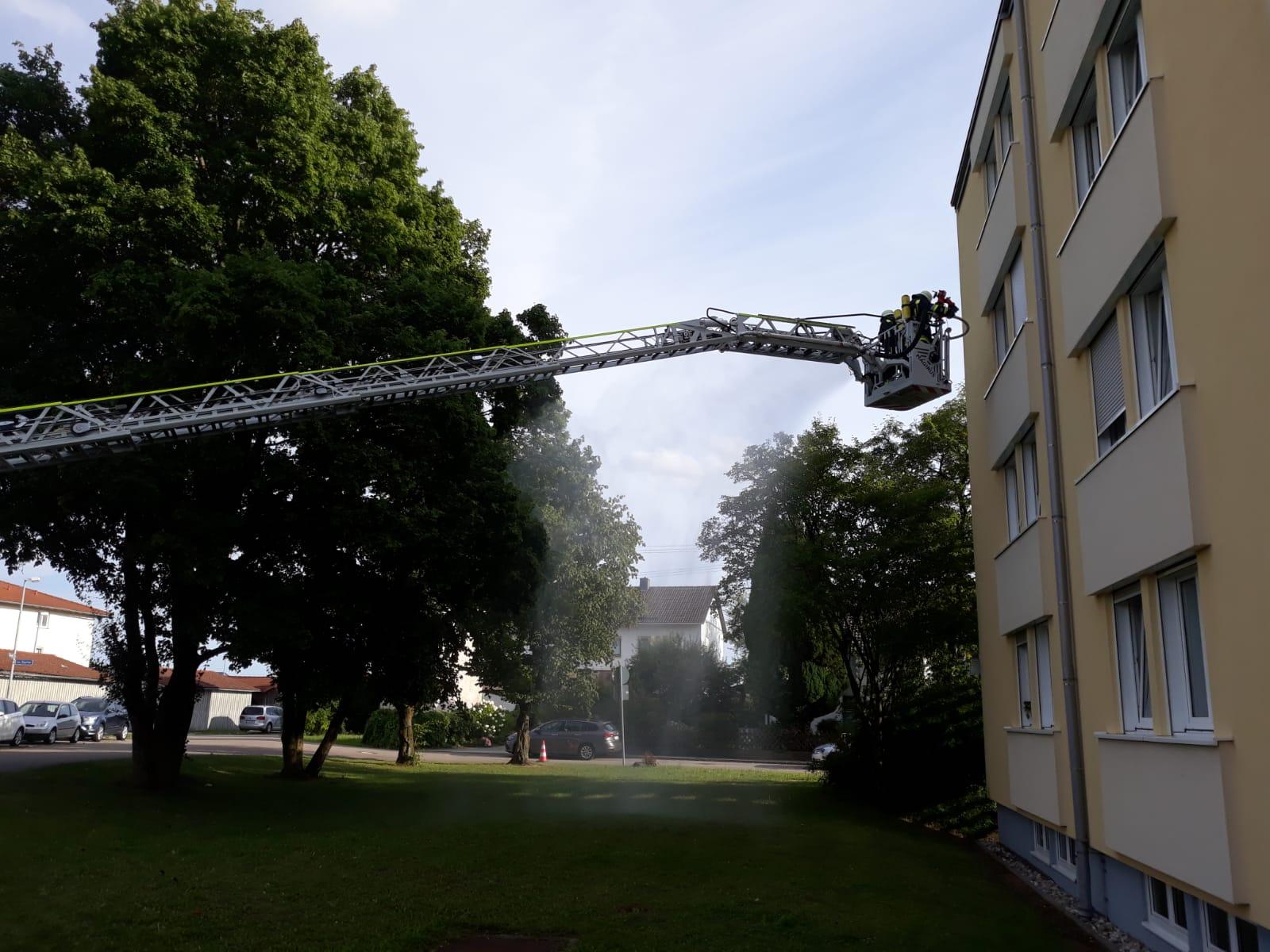 Übung AWO-Wohnheim